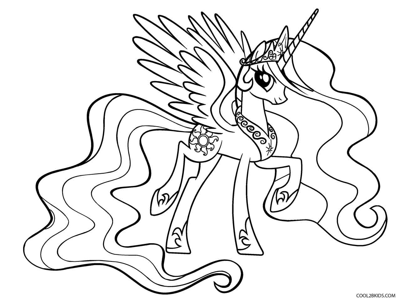 coloring cartoon pony my little pony coloring pages twilight sparkle and friends pony cartoon coloring
