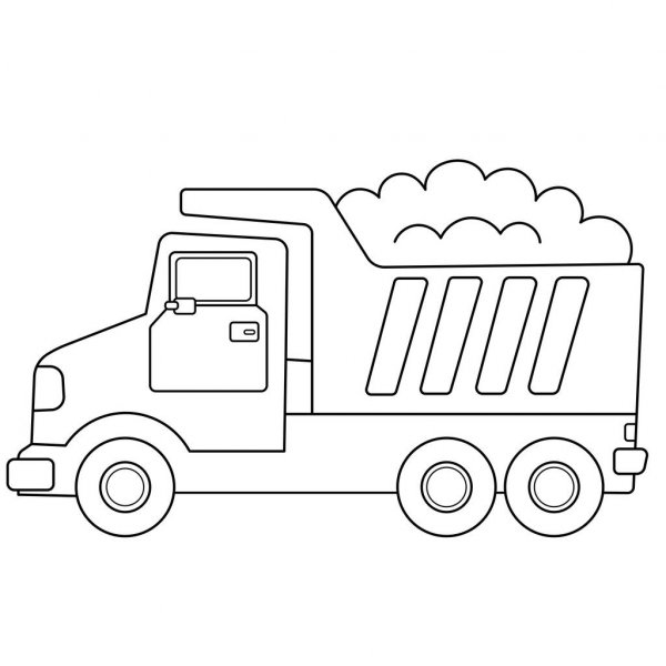 coloring cartoon trucks crane truck coloring pages in realistic and cartoon version trucks cartoon coloring