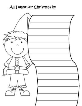 coloring christmas list 17 best christmas wish list images on pinterest list christmas coloring