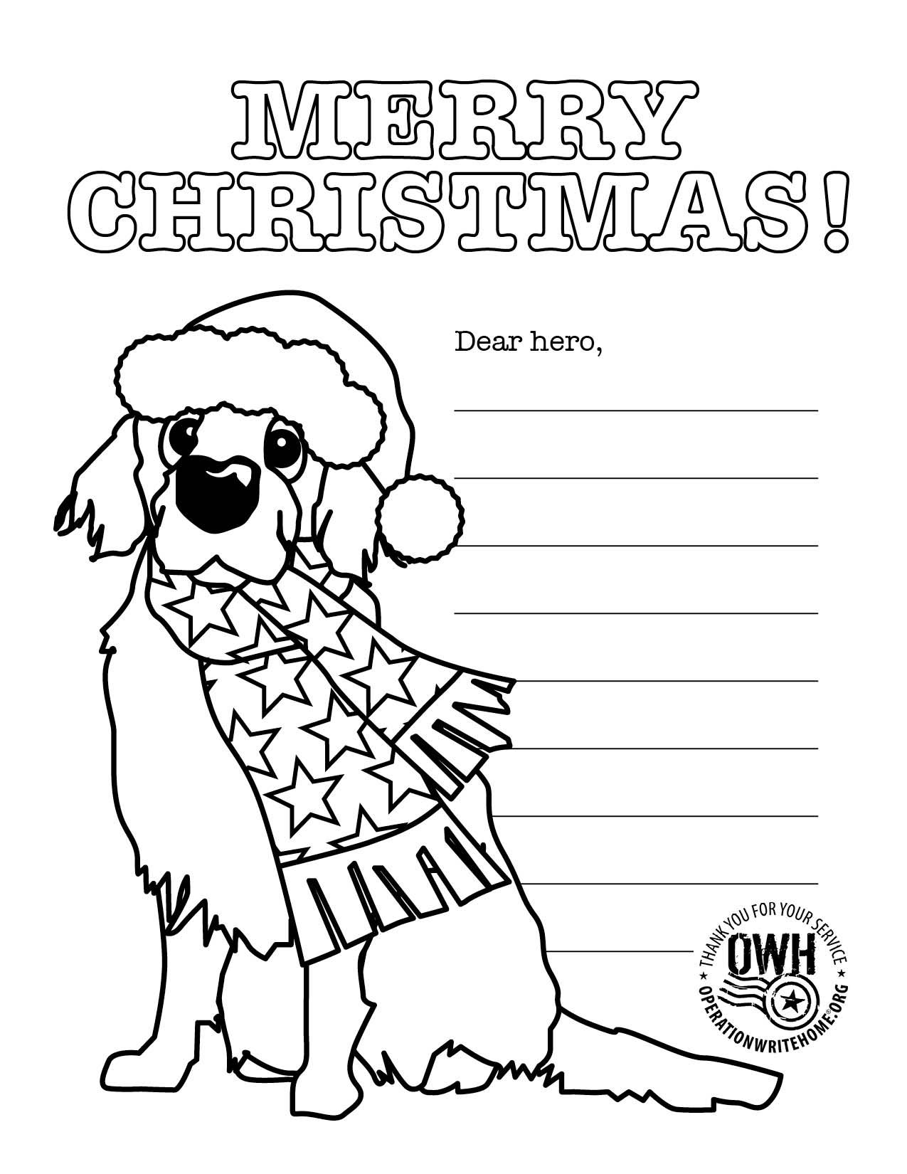 coloring christmas list coloring pages operation write home children can list christmas coloring