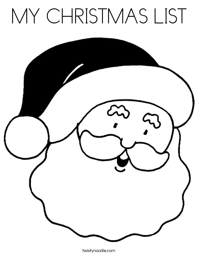 coloring christmas list letter to santa coloring page santa coloring pages dear list christmas coloring