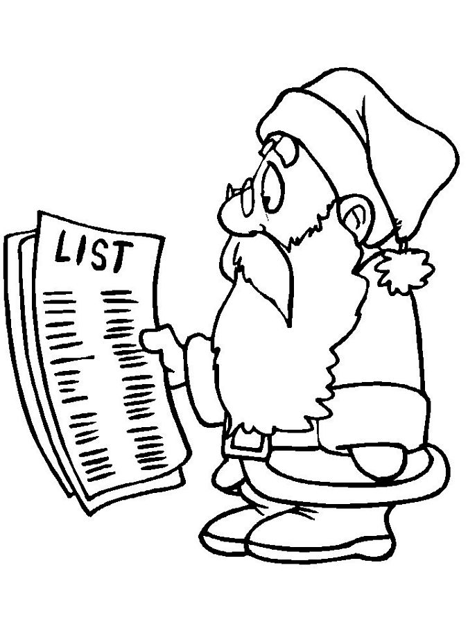 coloring christmas list santa coloring pages list christmas coloring