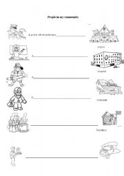 coloring community places 12 best images of my neighborhood worksheet my community coloring places