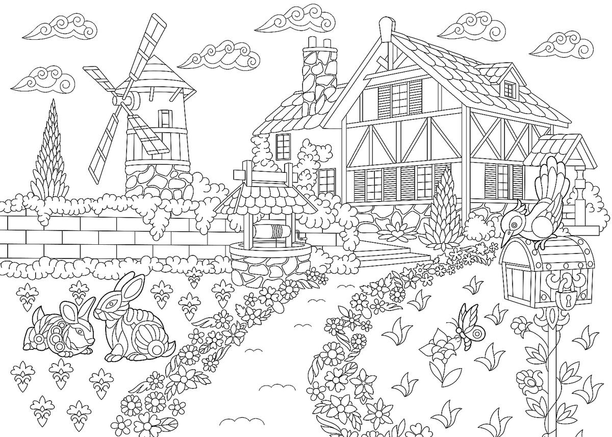 coloring community places 18 best images of worksheets about neighborhoods community coloring places