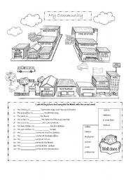 coloring community places paint the town bank coloring page educationcom places coloring community