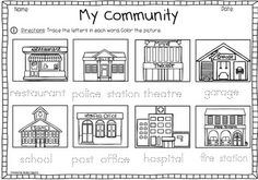 coloring community places town city cityscape free vector graphic on pixabay coloring places community