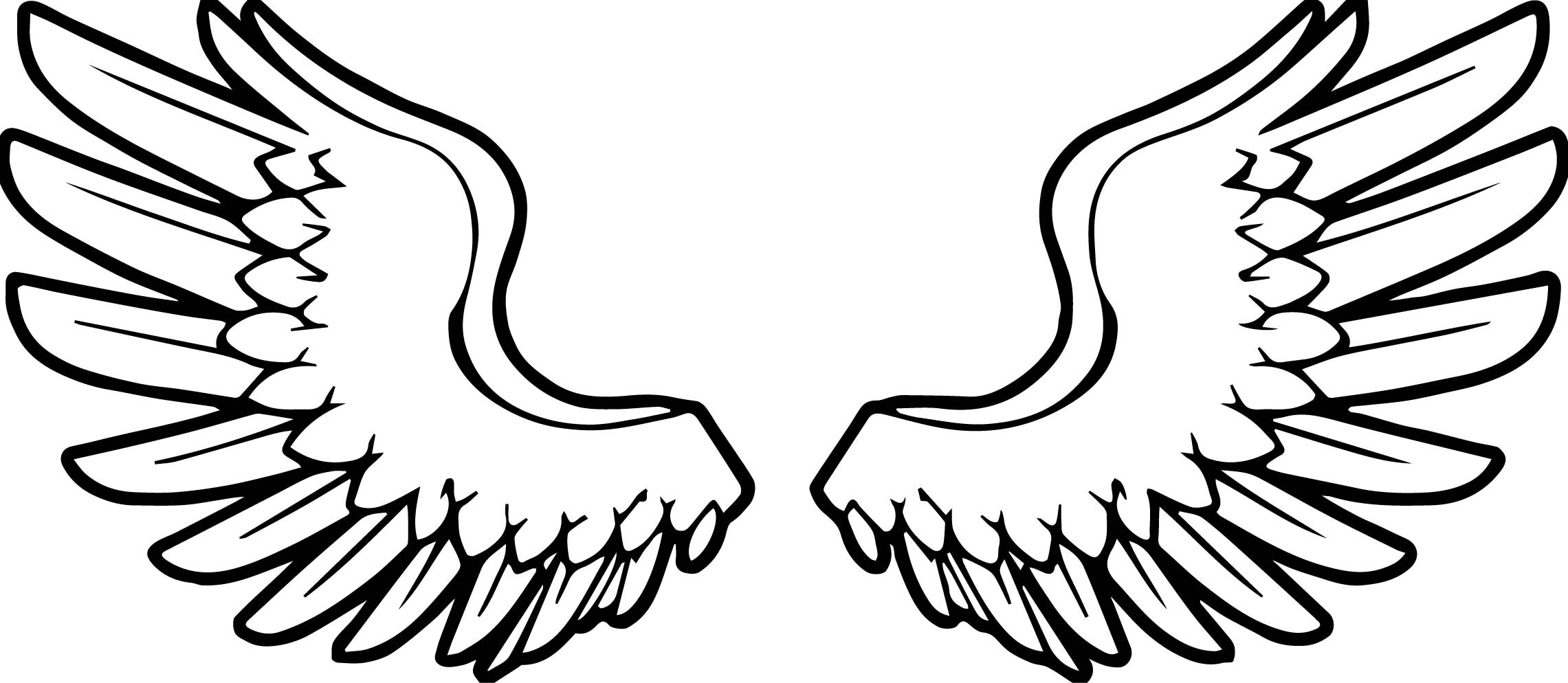 coloring cross with wing coloring pages angel wings at getcoloringscom free with cross coloring wing