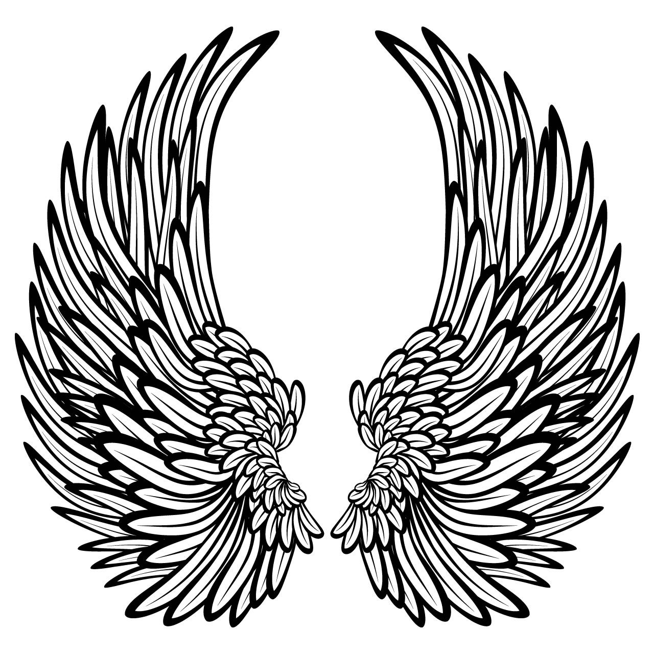 coloring cross with wing cool cross drawings with wings google search wings cross wing coloring with