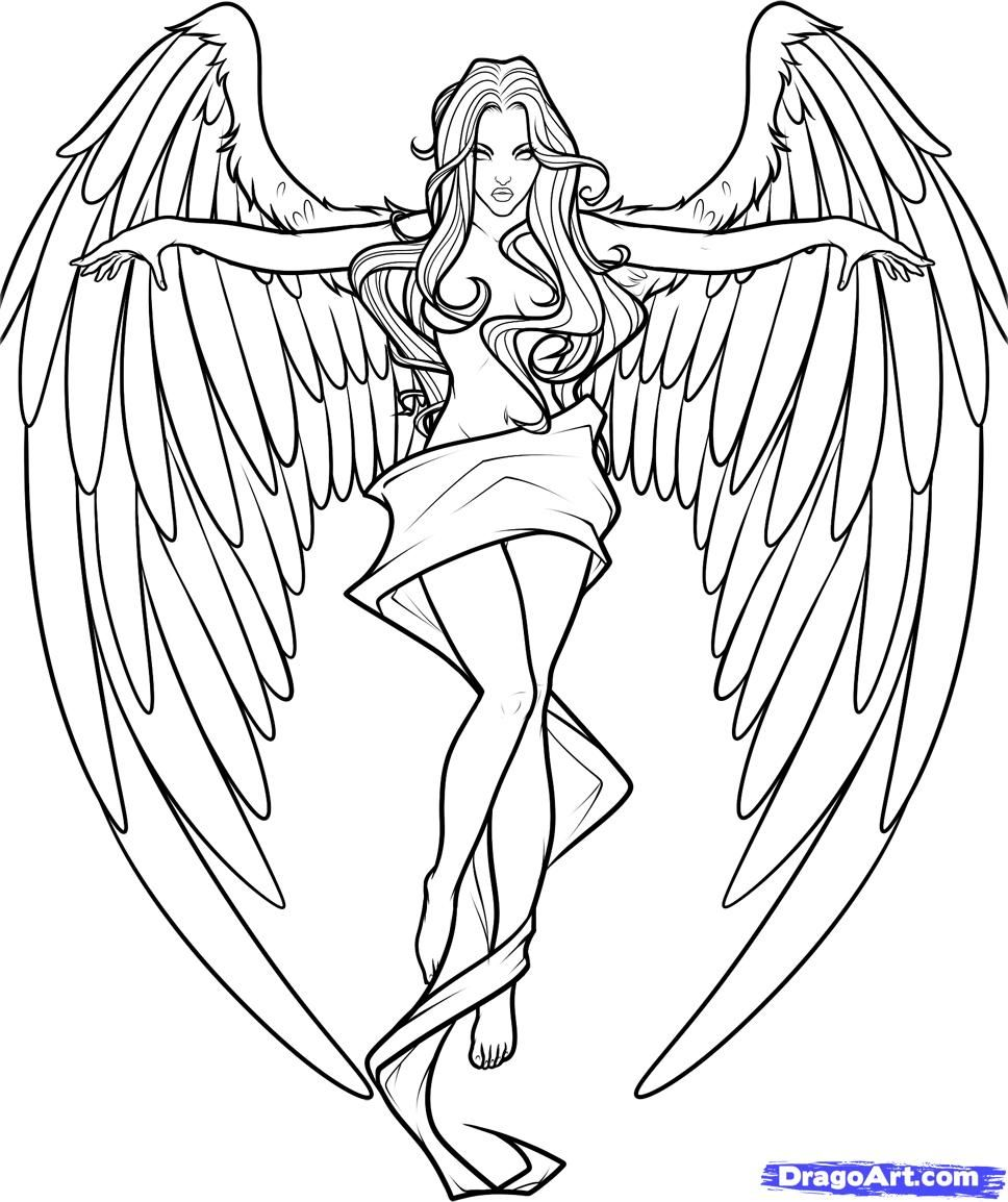 coloring cross with wing cross with wings coloring pages part 28 free resource cross coloring wing with
