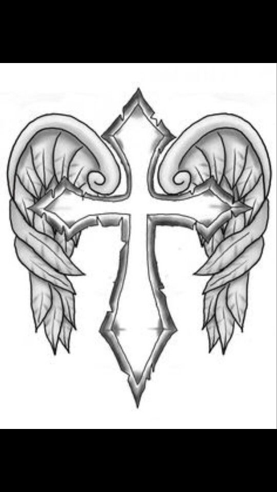 coloring cross with wing cross with wings fairy coloring pages skull coloring pages cross wing with coloring
