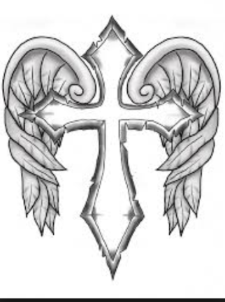 coloring cross with wing image by layne gano on drawings cross coloring page coloring with cross wing