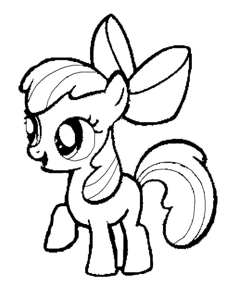 coloring cute little pony 28 best mlp coloring pages images on pinterest printable little pony coloring cute