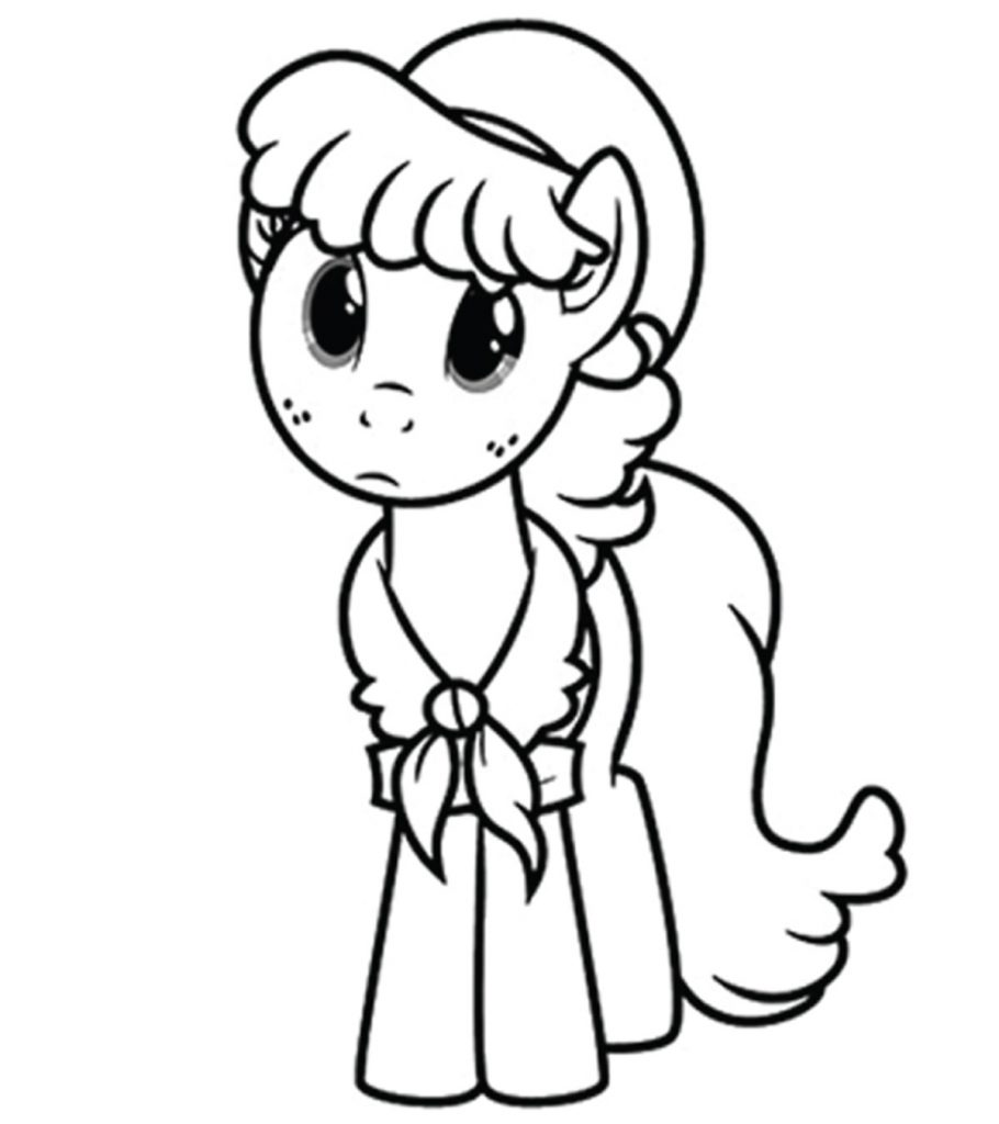 coloring cute little pony my little pony coloring pages getcoloringpagescom coloring cute little pony