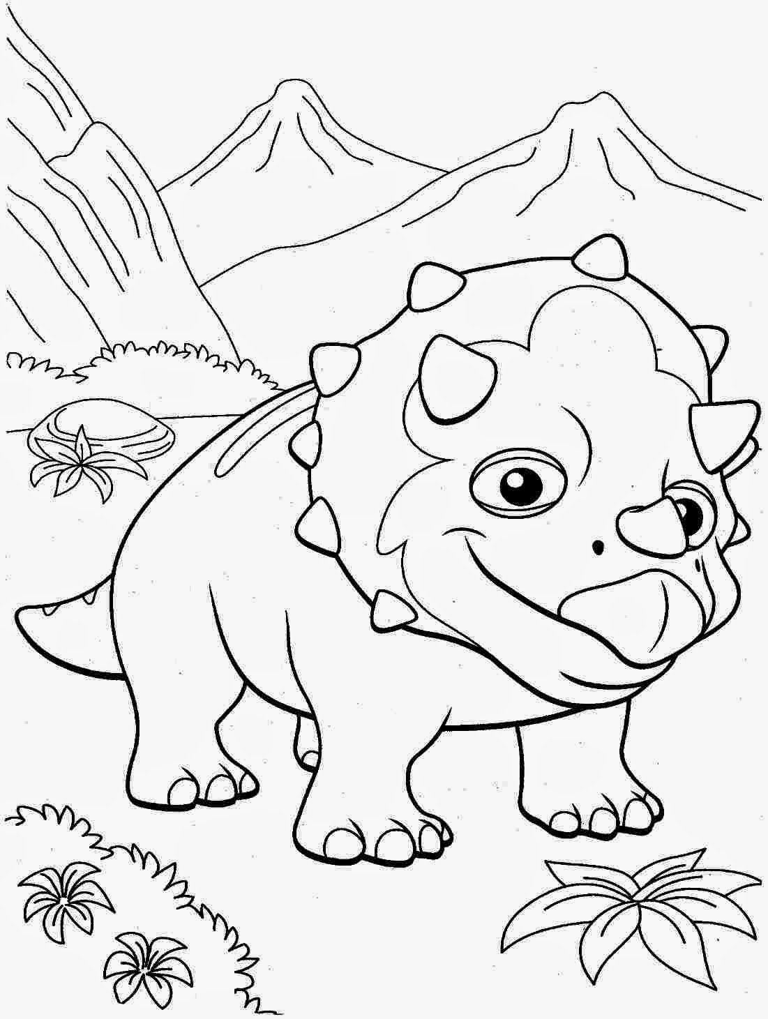 coloring dinosaur free printables dinosaurs free to color for kids tyrannosaur rex cartoon dinosaur free printables coloring