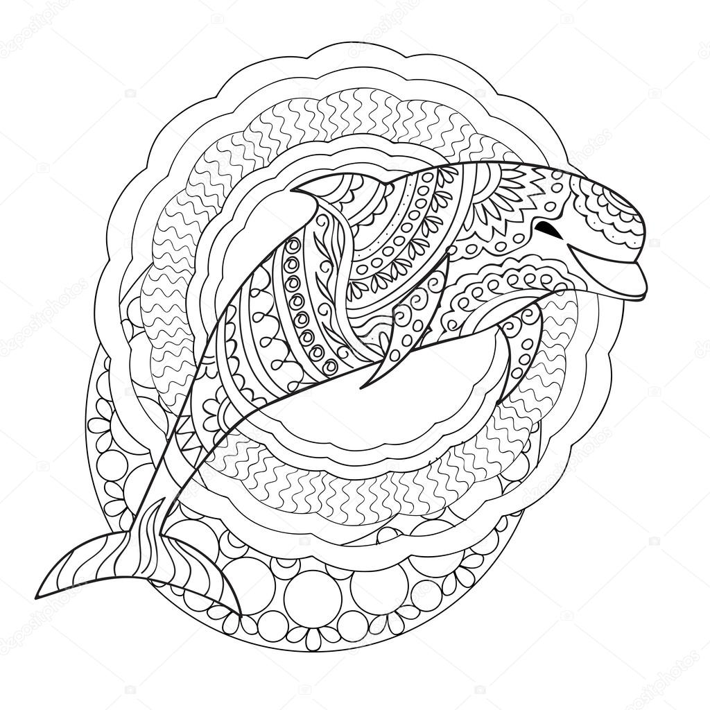 coloring dolphin mandala best free animal mandala coloring pages pdfs to download dolphin mandala coloring