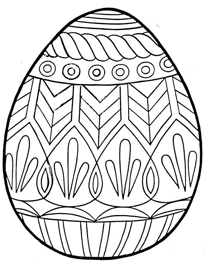 coloring easter egg detailed easter egg coloring pages at getdrawings free egg easter coloring