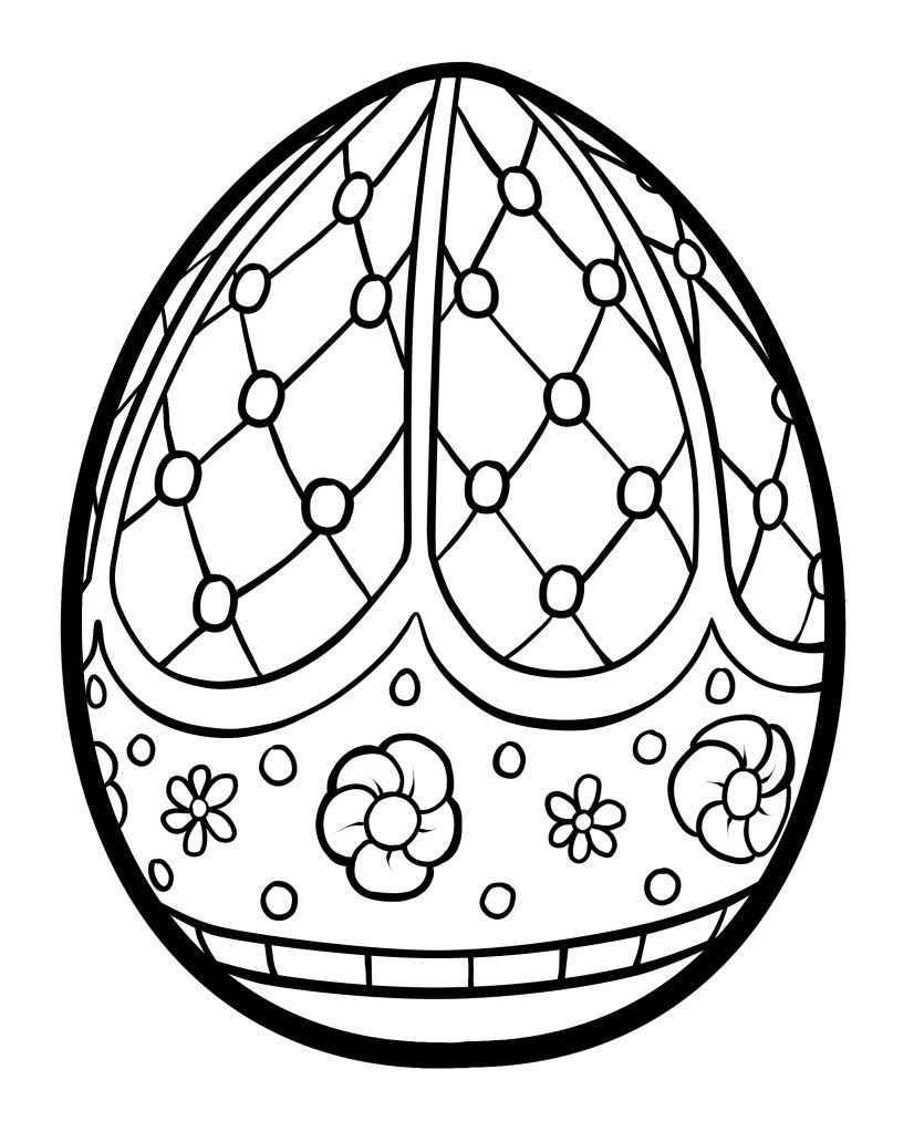 coloring easter egg easter coloring pages for adults coloring home easter coloring egg