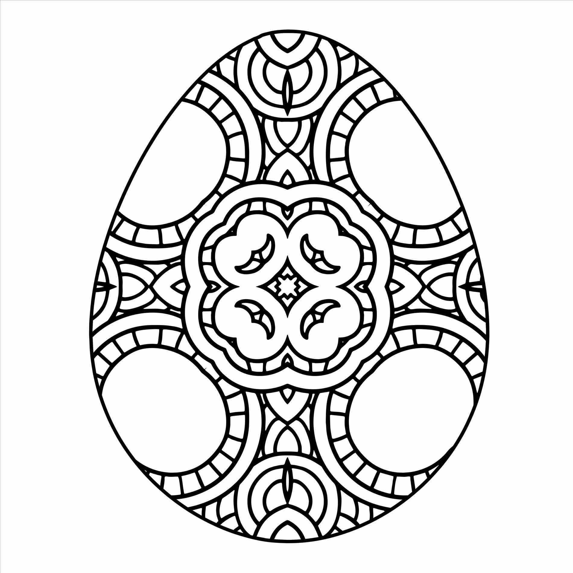 coloring easter egg easter egg coloring pages for adults at getcoloringscom easter coloring egg
