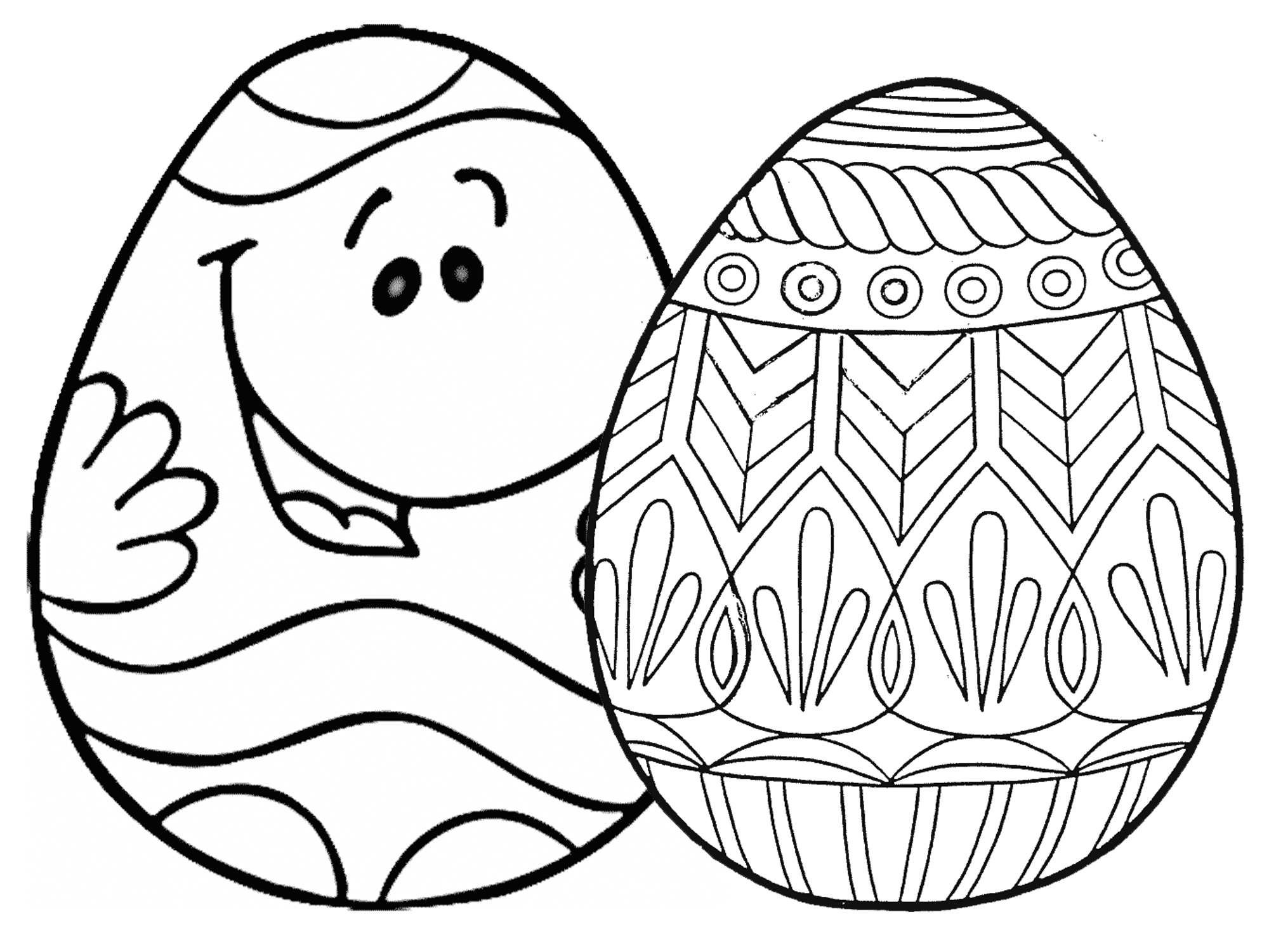 coloring easter egg free easter egg coloring pages holidappy coloring egg easter