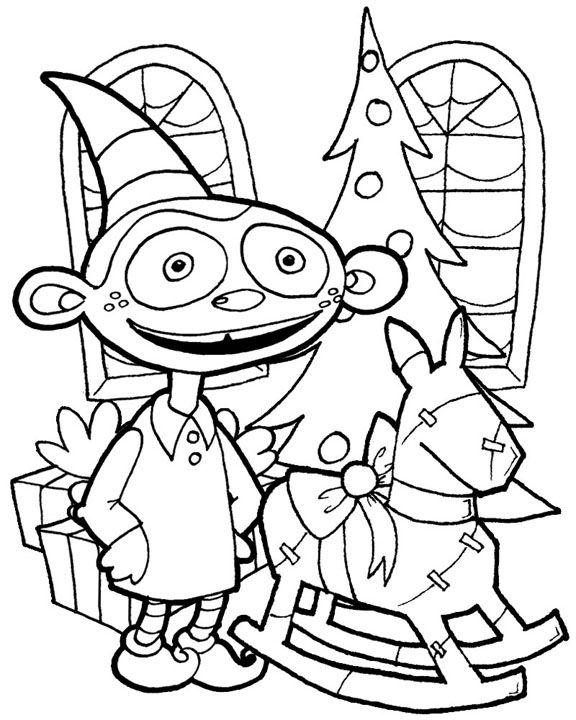 coloring elf christmas coloring book pictures to color elf coloring