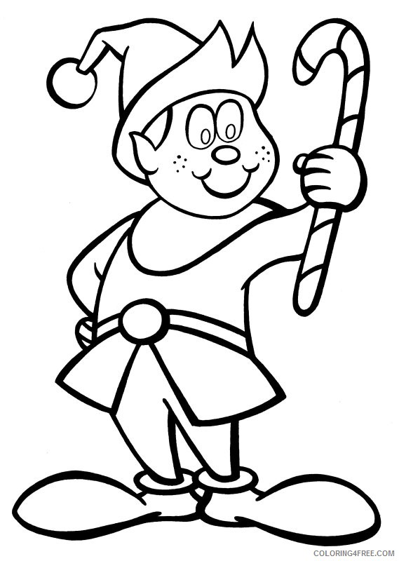 coloring elf free printable elf coloring pages for kids elf coloring