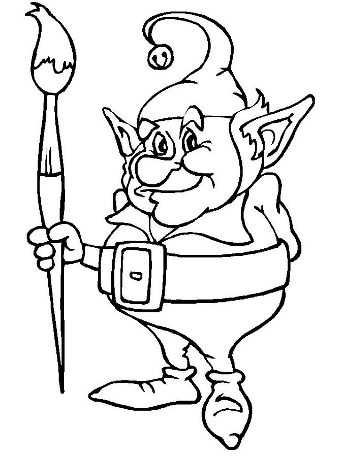 coloring elf free printable elf on the shelf coloring pages tulamama elf coloring
