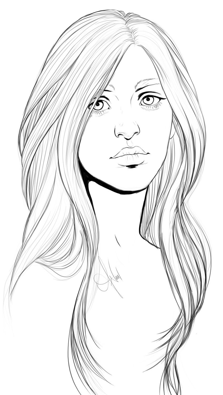 coloring face in photoshop faces templates drawing at getdrawings free download face coloring photoshop in