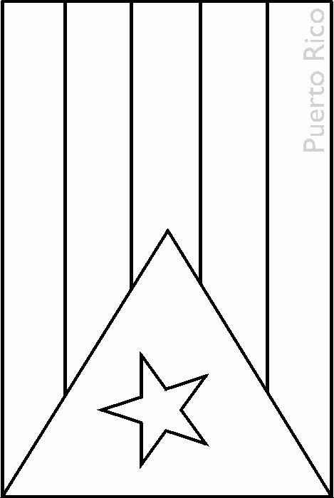 coloring flag of puerto rico clip art flags puerto rico coloring page abcteach flag coloring puerto of rico