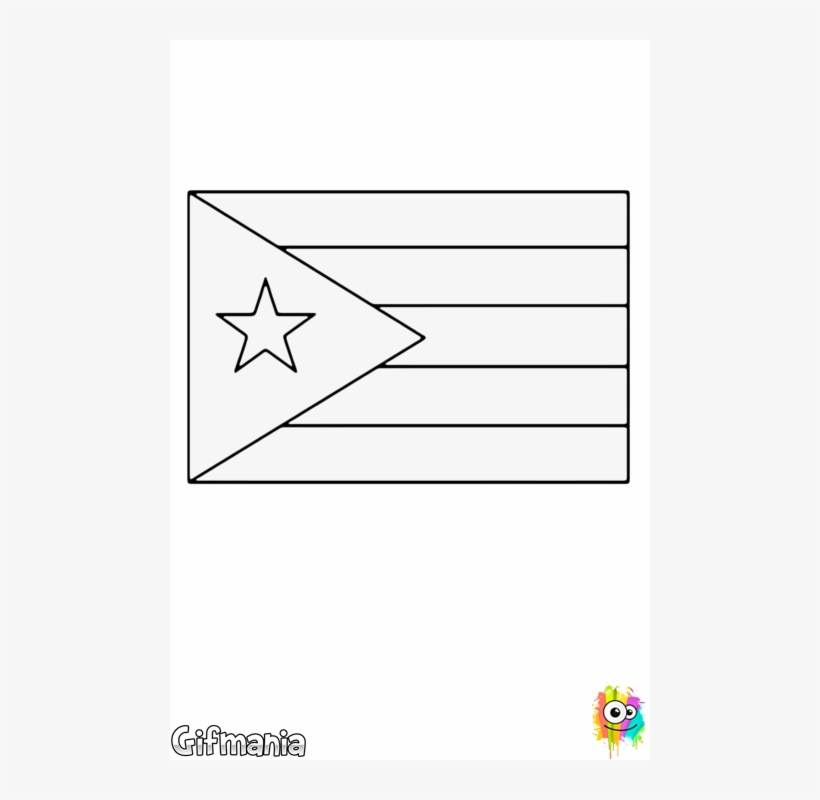 coloring flag of puerto rico coloring flag of puerto rico of flag puerto coloring rico