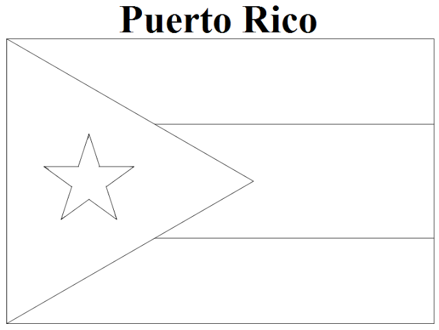 coloring flag of puerto rico geography blog puerto rico flag coloring page flag rico coloring of puerto