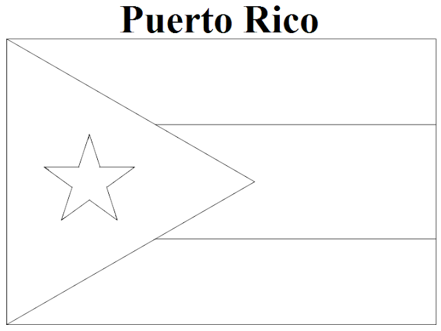 coloring flag of puerto rico national flag of puerto rico to color coloring pages coloring flag of puerto rico