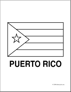 coloring flag of puerto rico puerto rican flag drawing at getdrawings free download flag puerto of rico coloring