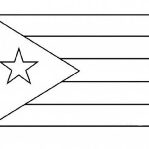 coloring flag of puerto rico puerto rican flag drawing at getdrawings free download of flag puerto rico coloring
