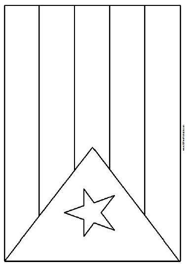 coloring flag of puerto rico puerto rico flag coloring page coloring home flag puerto coloring rico of