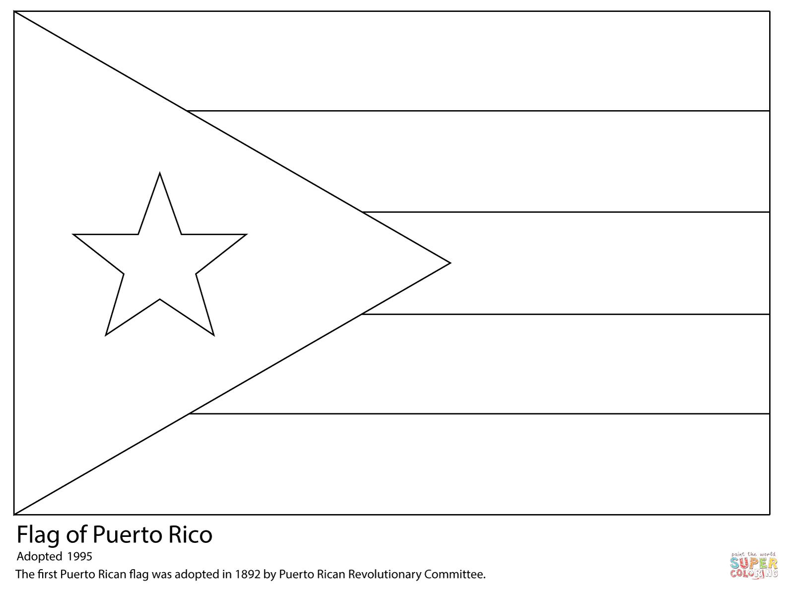 coloring flag of puerto rico stately country flag coloring page namibia rwanda free coloring of flag rico puerto