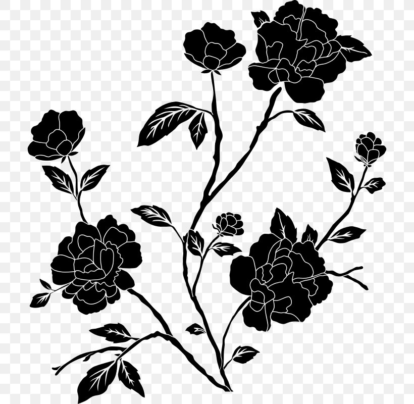 coloring flower clipart black and white cartoon clipart of an outlined black eyed susan flower and flower coloring clipart black white