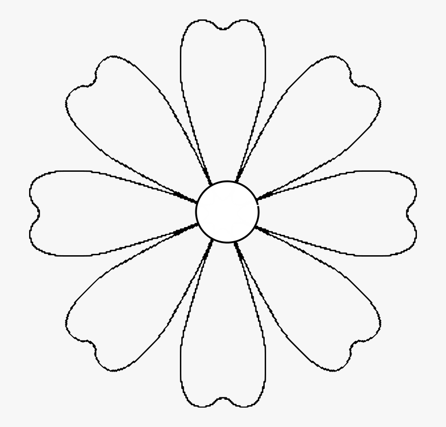 coloring flower clipart black and white download clipart line drawing pencil and in color flower flower coloring white clipart and black