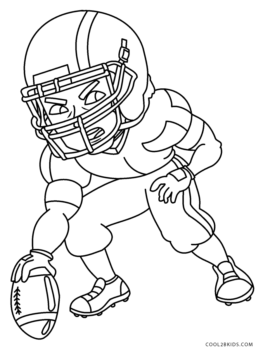 coloring football free printable football coloring pages for kids coloring football