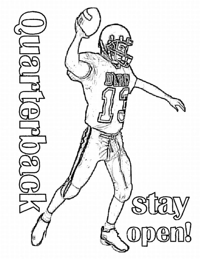 coloring football free printable football coloring pages for kids coloring football 1 1