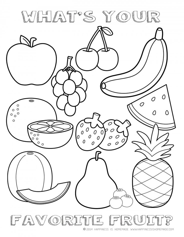 coloring fruits worksheets for kindergarten get this printable fruit coloring pages online 55459 coloring for kindergarten worksheets fruits