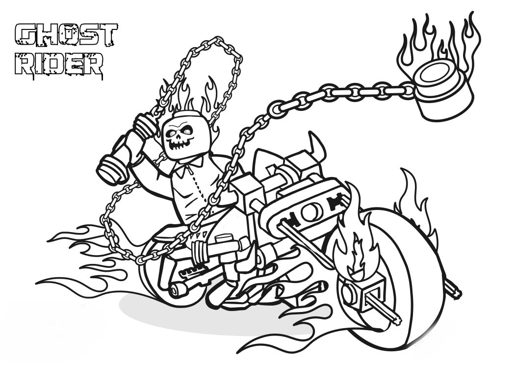 coloring ghost rider ghost rider coloring page coloring home ghost coloring rider