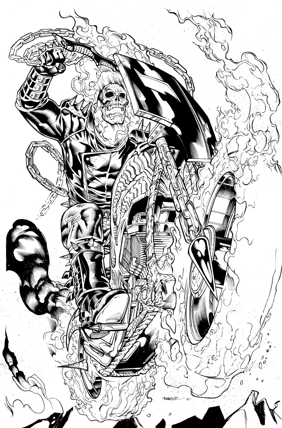 coloring ghost rider ghost rider coloring page coloring home rider ghost coloring