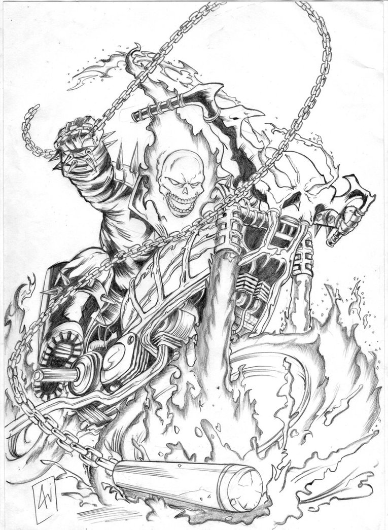 coloring ghost rider ghost rider coloring pages coloring pages to download coloring ghost rider