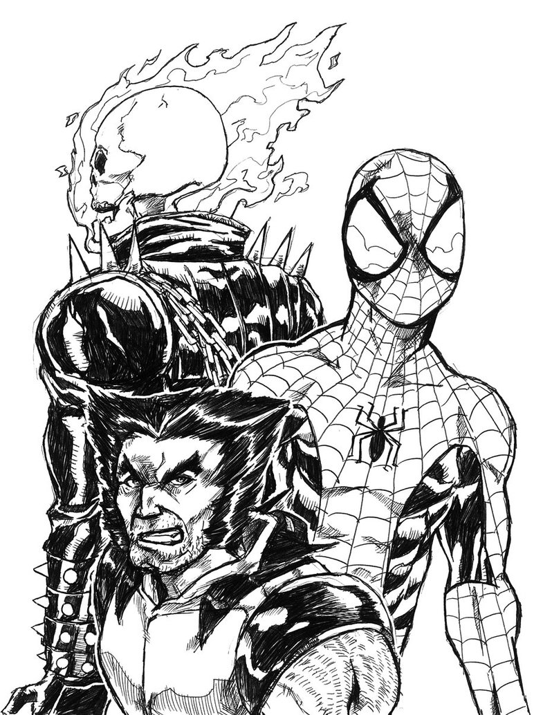 coloring ghost rider ghost rider coloring pages to download and print for free ghost rider coloring