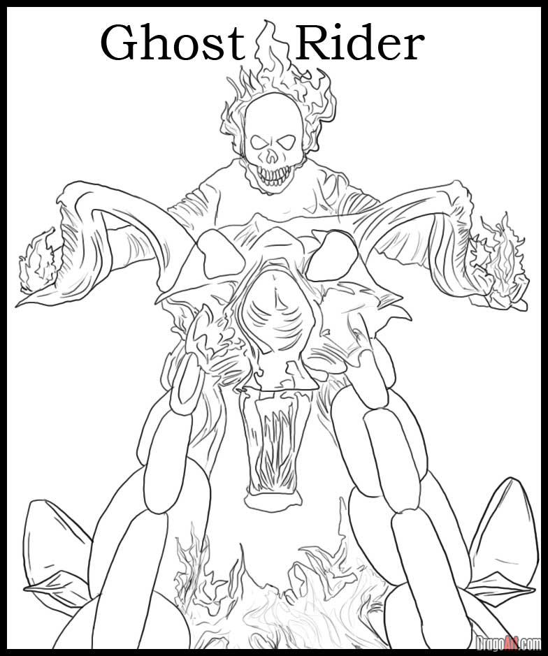 coloring ghost rider ghost rider coloring pages to download and print for free rider ghost coloring
