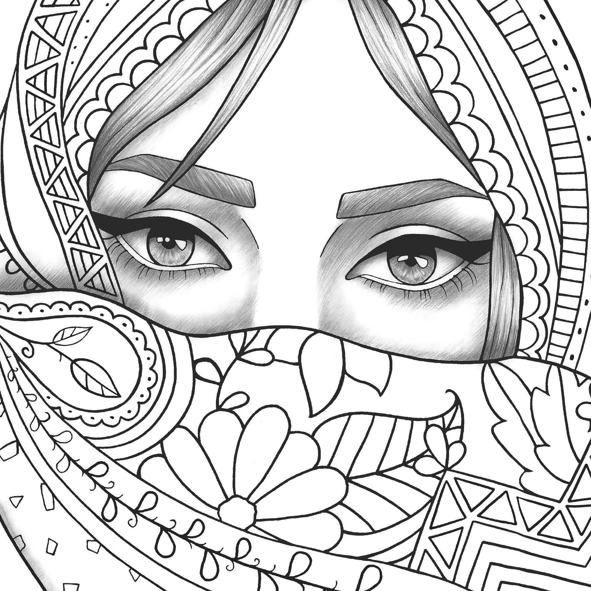 coloring girl sheets adult coloring page girl portrait and clothes colouring girl sheets coloring