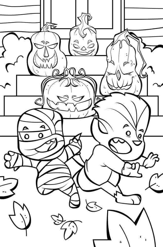 coloring halloween activities free halloween coloring pages for kids or for the kid in you activities halloween coloring