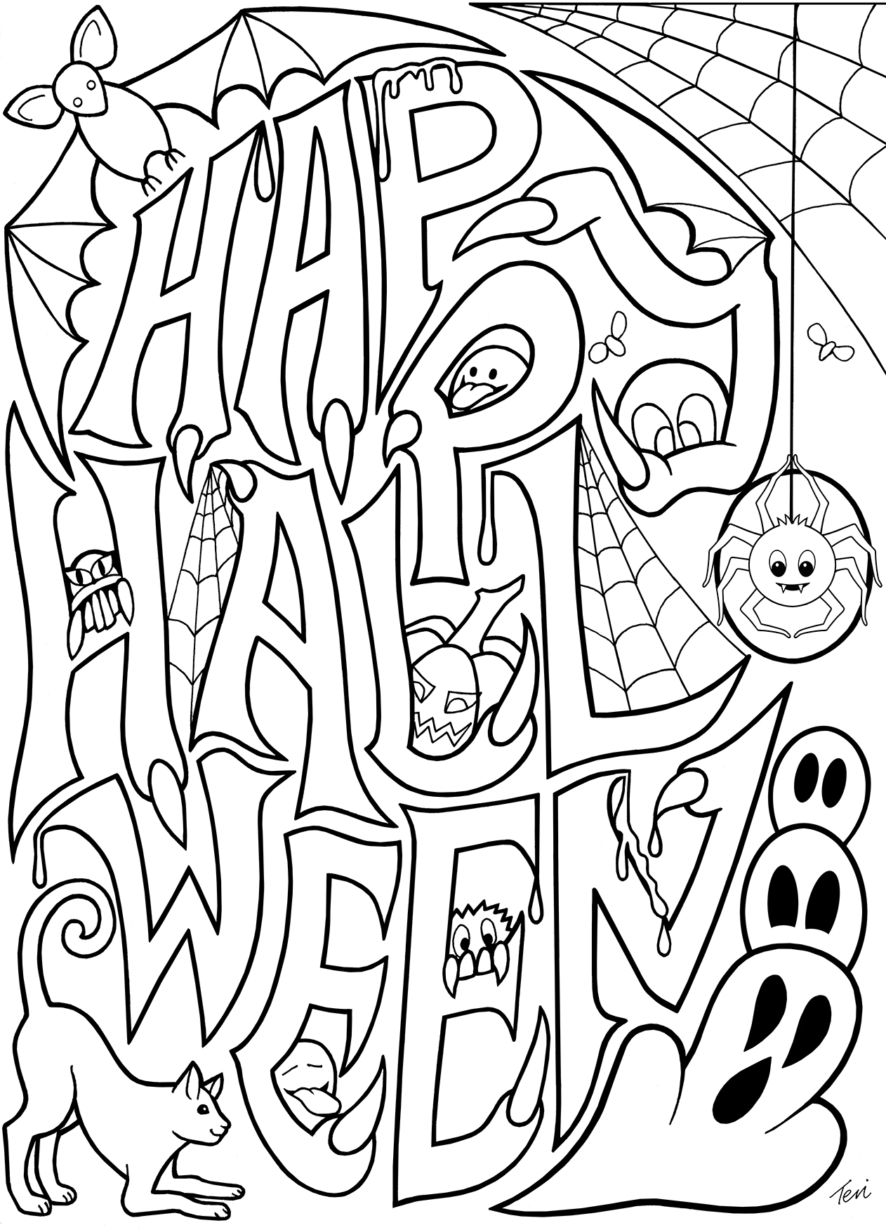 coloring halloween activities halloween coloring pages 10 free spooky printable activities halloween coloring