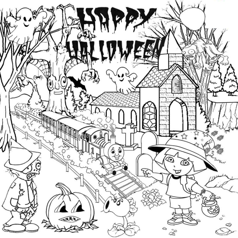 coloring halloween activities halloween coloring pages 10 free spooky printable coloring activities halloween