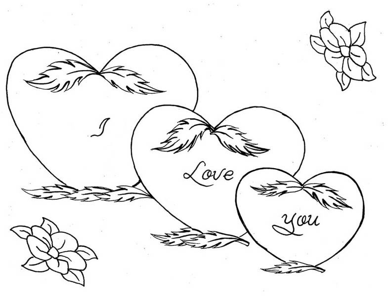 coloring hearts and roses heart with thorns drawing at getdrawings free download and coloring roses hearts